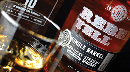 REBEL YELL SINGLE BARREL