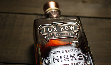 LUX ROW DISTILLERS LAUNCHES NEW BOURBON TO COMMEMORATE DISTILLERY'S OPENING