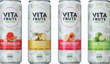 LUXCO® INTRODUCES NEW CAN INNOVATION WITH VITA FRUTE® VODKA SODA