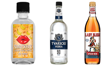 Luxco® Launches New Product, Smackers® and Updates the Look for Tvarscki® and Lady Bligh®