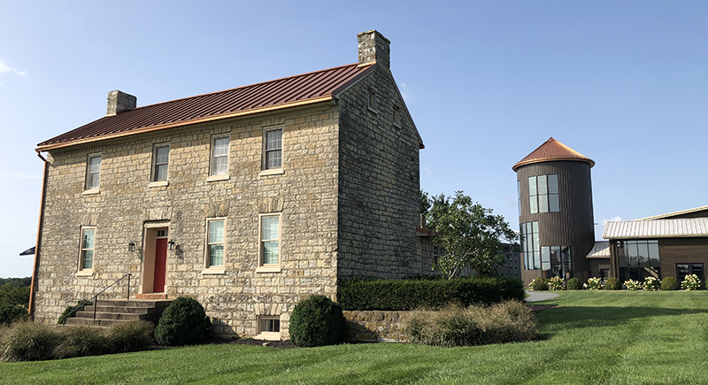 The Stone House at Lux Row Distillers™ Gets a New Fresh Look