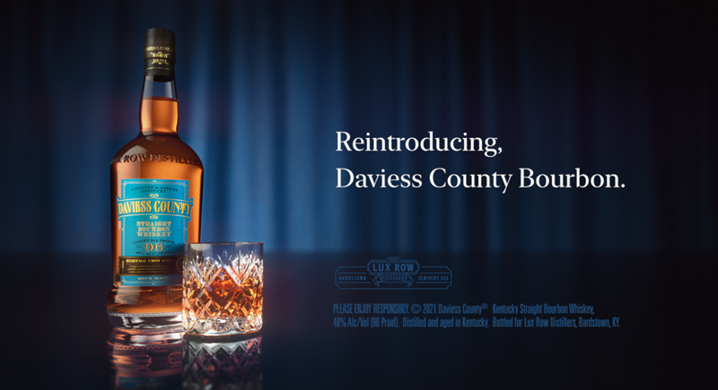Daviess County® Bourbon Celebrates Its Rich Legacy and Promising Future with a New Digital and TV Ad