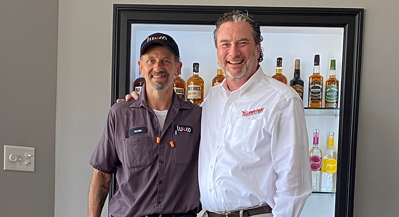 Luxco® Honors Mark Pirtle Retires with 37 Years of Service